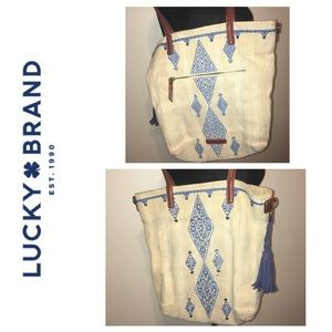 Lucky Brand Aztec Print Purse with Strap. You ""